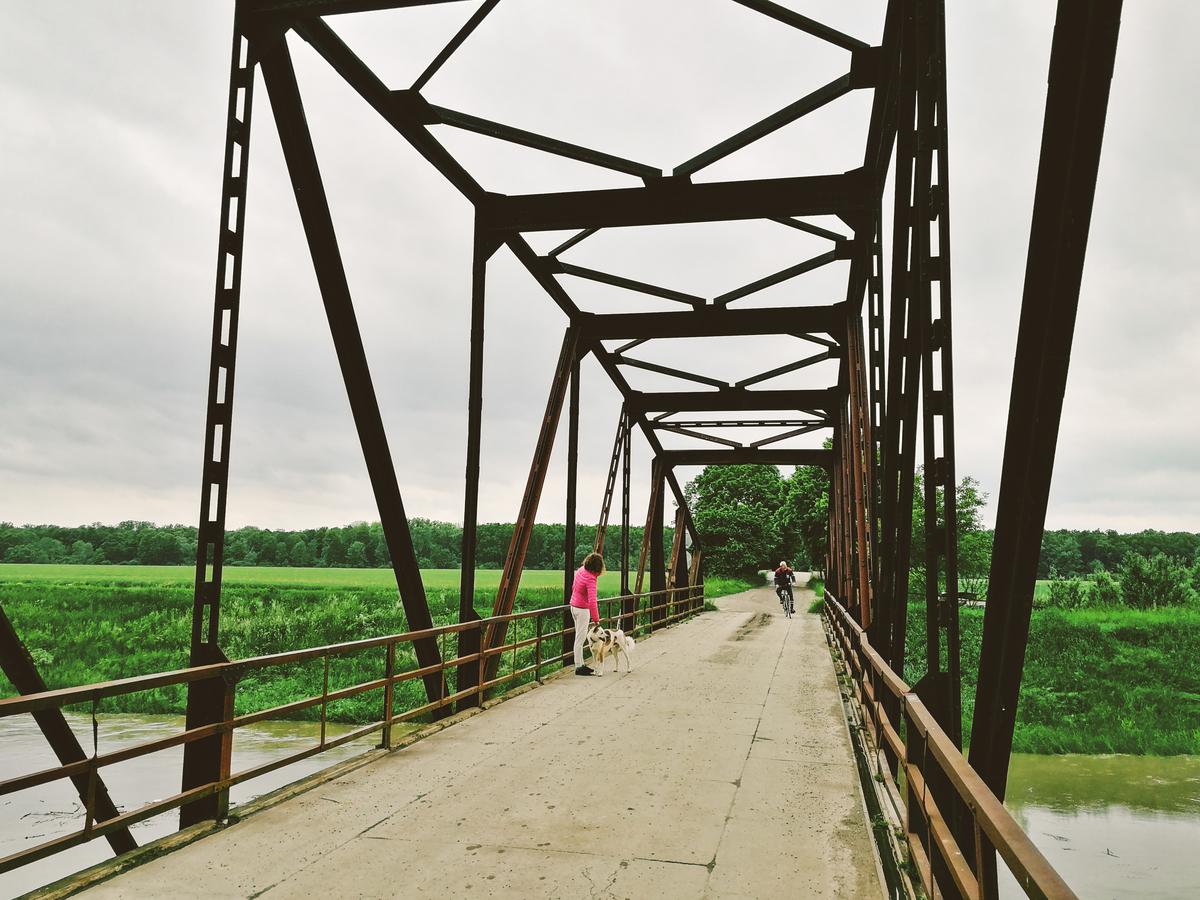 Stav vody v řece Moravě, Vnorovy, 23. května 2019